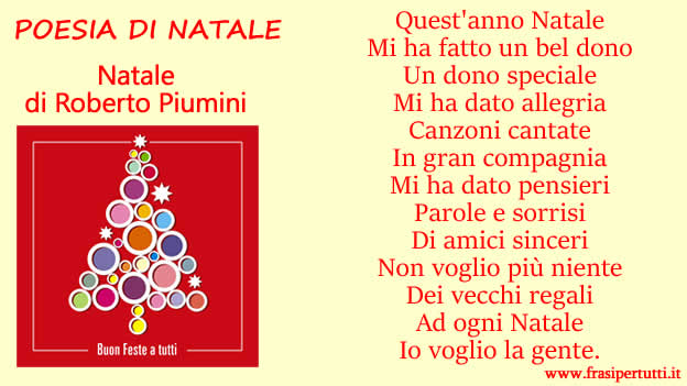 Immagine Poesia di Natale di Roberto Piumini: Natale