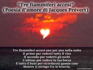 Poesia d'amore di Jacques Prévert